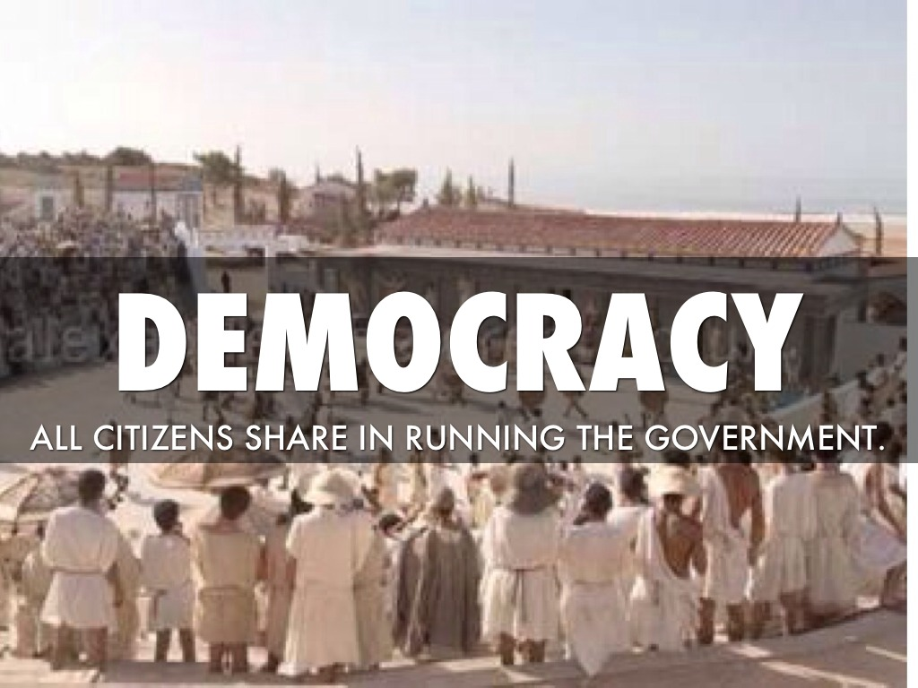 Compare and contrast Athenian democracy and modern democracy.